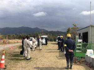 【ICT施工視察】本野原遺跡ガイダンス敷地造成および排水工事